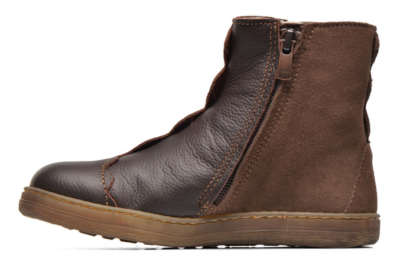 Boots en enkellaarsjes El Naturalista KEPINAE047 Bruin voorkant