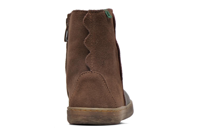 Bottines et boots El Naturalista KEPINAE047 Marron vue droite