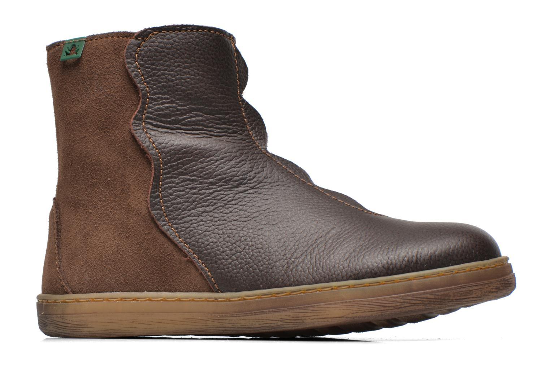 Boots en enkellaarsjes El Naturalista KEPINAE047 Bruin achterkant