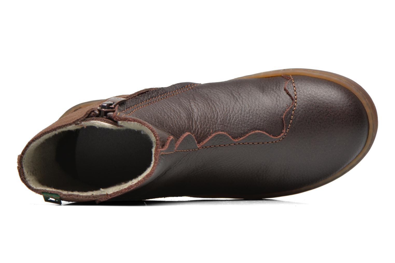 Boots en enkellaarsjes El Naturalista KEPINAE047 Bruin links