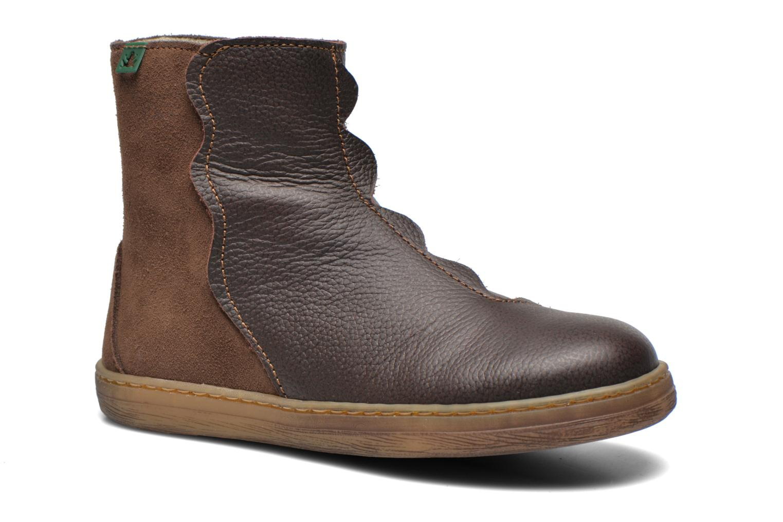 Boots en enkellaarsjes El Naturalista KEPINAE047 Bruin detail