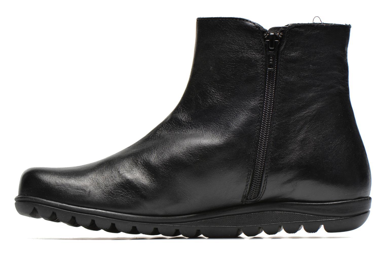 Bottines et boots Fluchos Evel 9166 Noir vue face