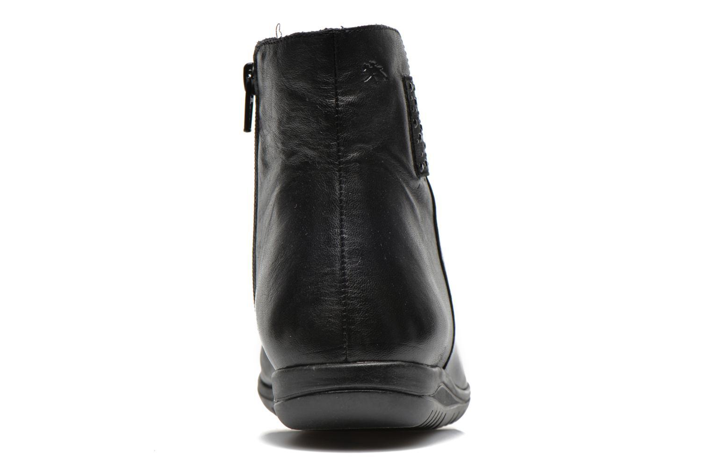 Bottines et boots Fluchos Evel 9166 Noir vue droite