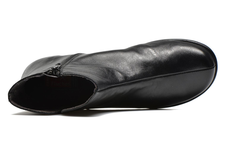 Bottines et boots Fluchos Evel 9166 Noir vue gauche