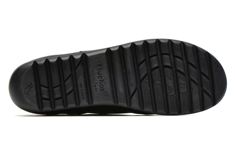 Bottines et boots Fluchos Evel 9166 Noir vue haut