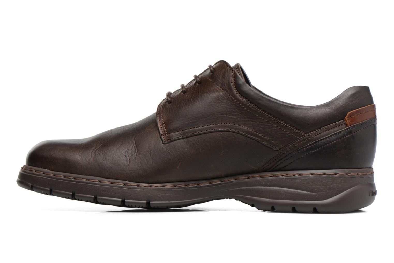 Chaussures à lacets Fluchos Crono 9145 Marron vue face