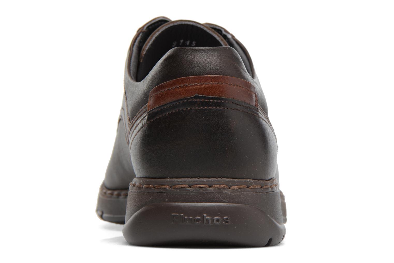 Chaussures à lacets Fluchos Crono 9145 Marron vue droite