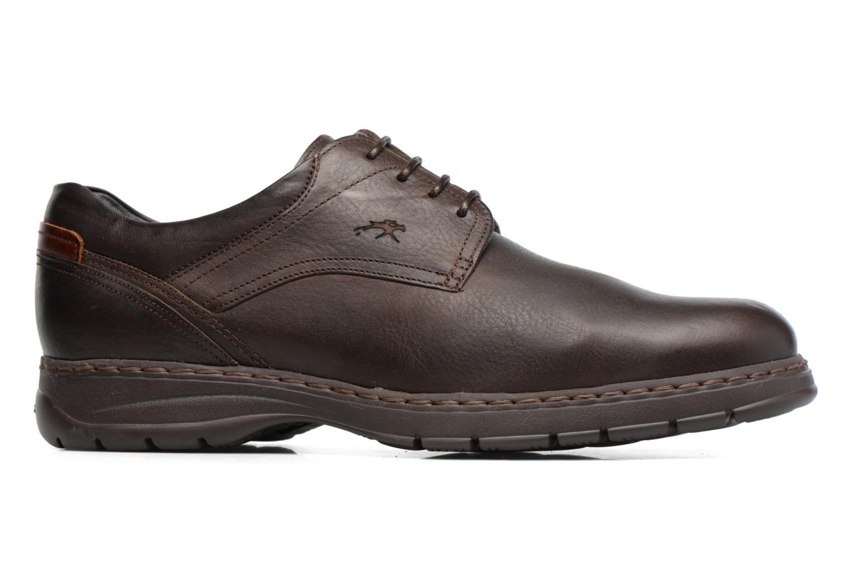 Chaussures à lacets Fluchos Crono 9145 Marron vue derrière
