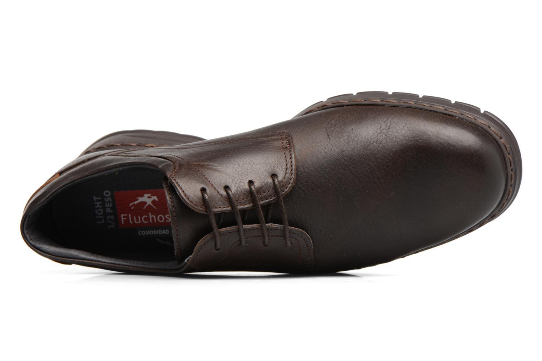 Chaussures à lacets Fluchos Crono 9145 Marron vue gauche