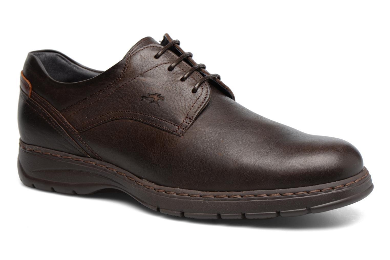 Chaussures à lacets Fluchos Crono 9145 Marron vue détail/paire