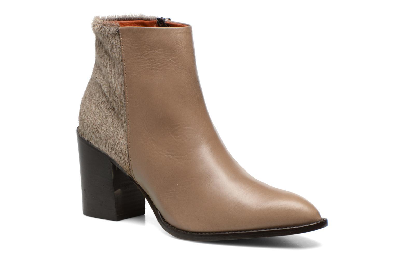 Bottines et boots Elizabeth Stuart Java 901 Beige vue détail/paire