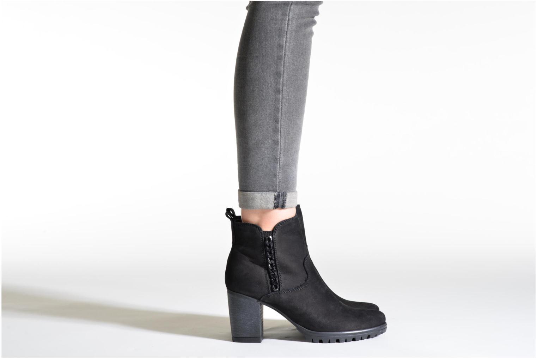 Bottines et boots Tamaris Oseali Noir vue bas / vue portée sac