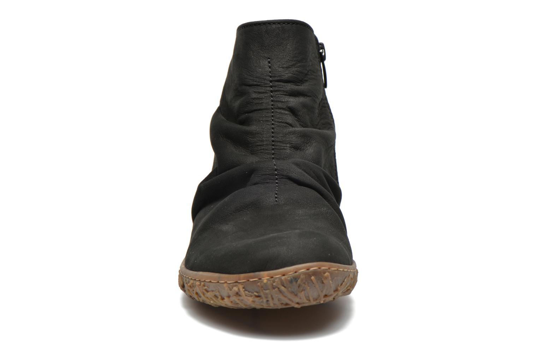 Bottines et boots El Naturalista Nido Ella N755 Noir vue portées chaussures