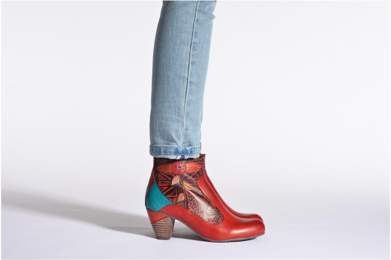 Bottines et boots Laura Vita Telia Multicolore vue bas / vue portée sac