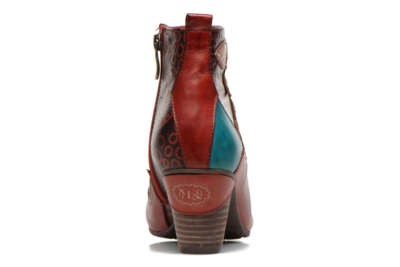 Bottines et boots Laura Vita Telia Multicolore vue droite