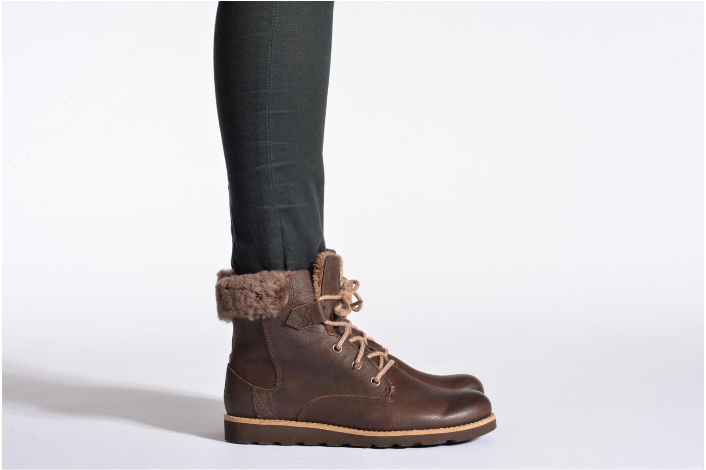 Bottines et boots TBS Anaick Marron vue bas / vue portée sac
