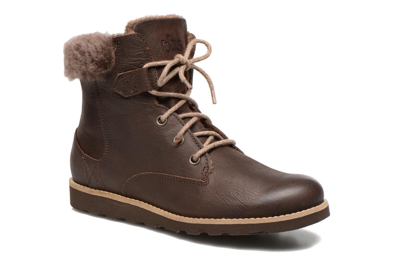 Bottines et boots TBS Anaick Marron vue détail/paire