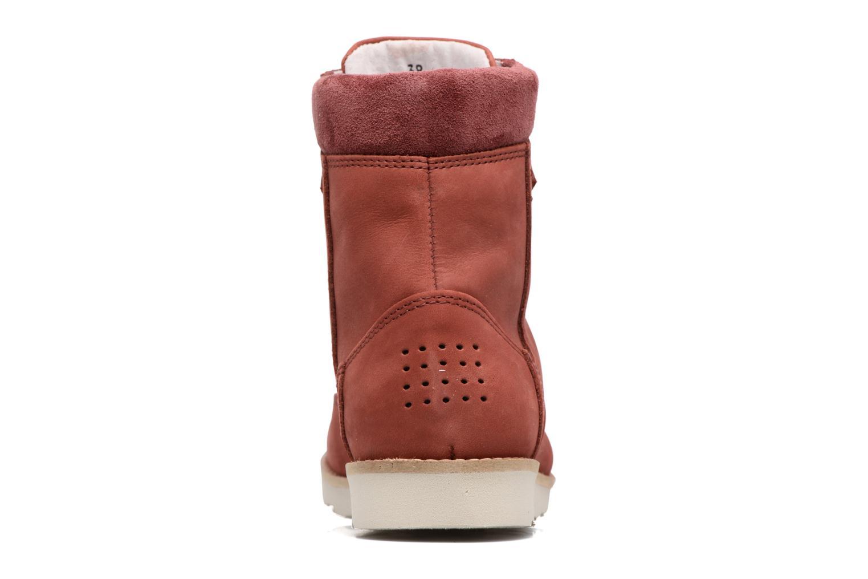 Bottines et boots TBS Anaick Rouge vue droite