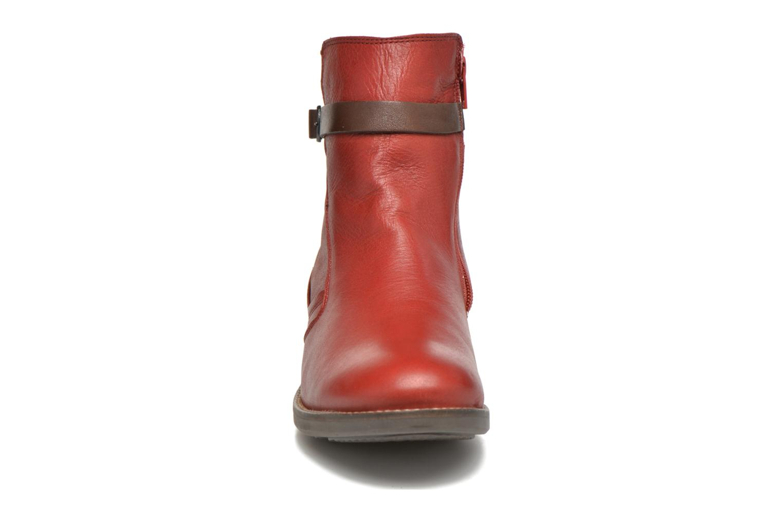 Bottines et boots TBS Gently Rouge vue portées chaussures