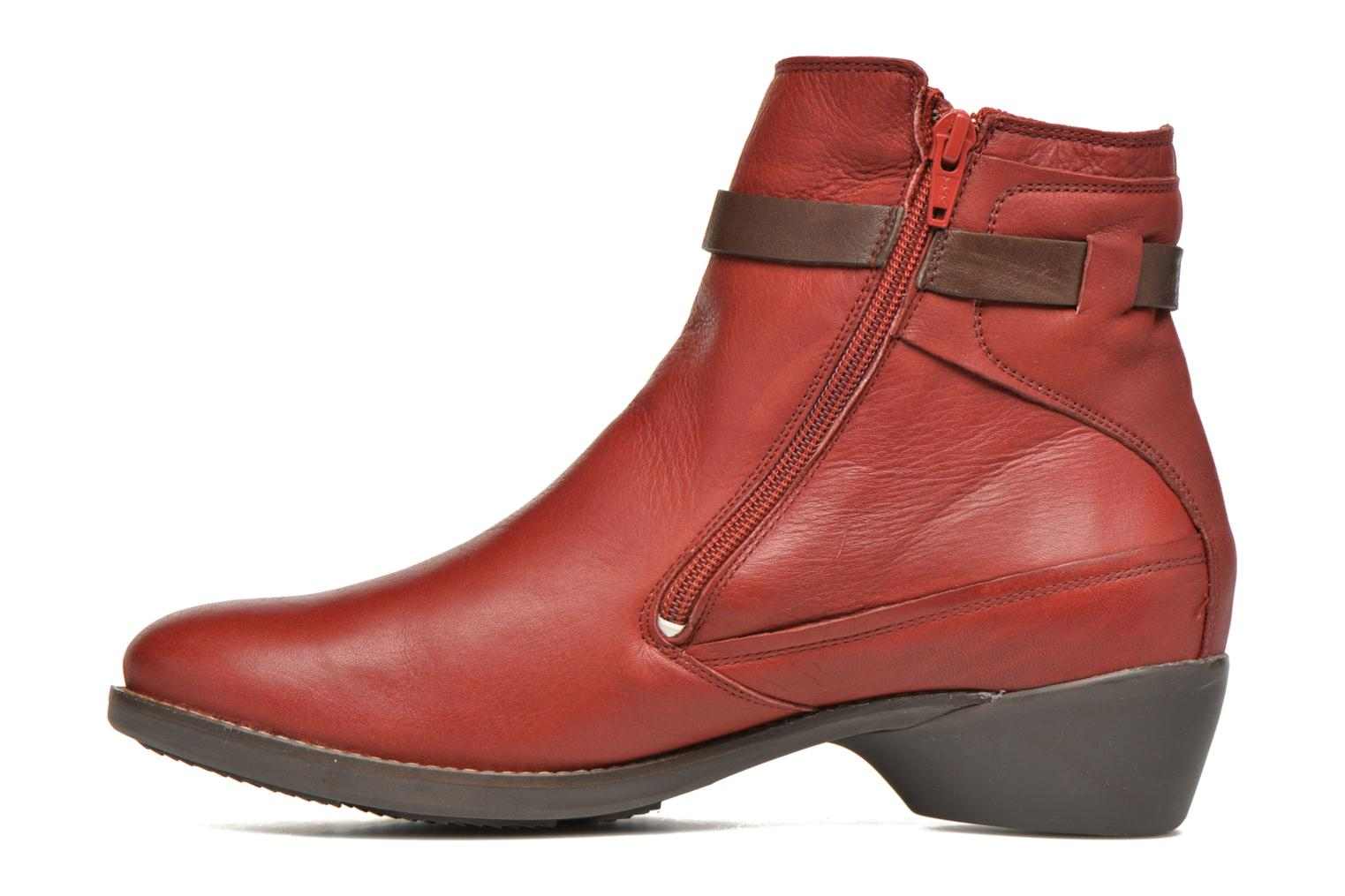 Bottines et boots TBS Gently Rouge vue face
