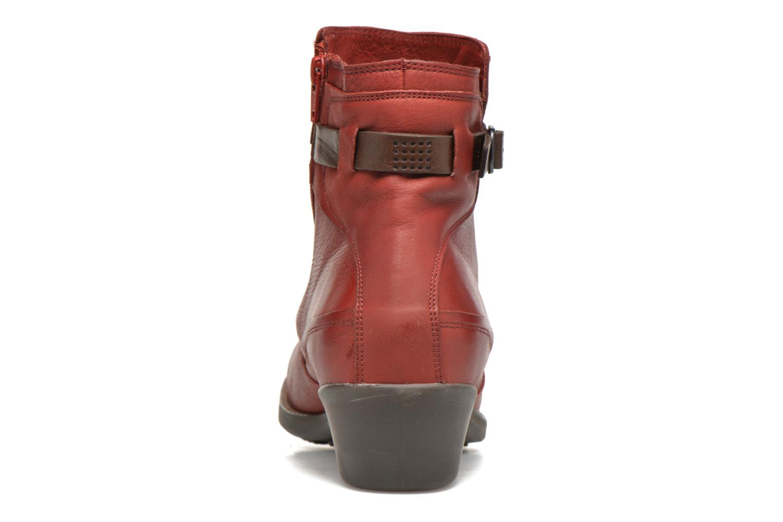 Bottines et boots TBS Gently Rouge vue droite
