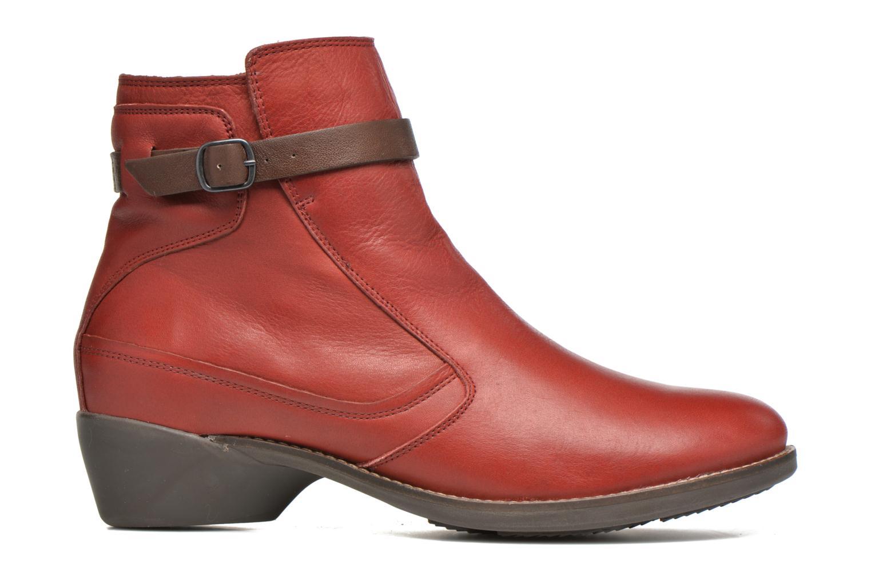 Bottines et boots TBS Gently Rouge vue derrière