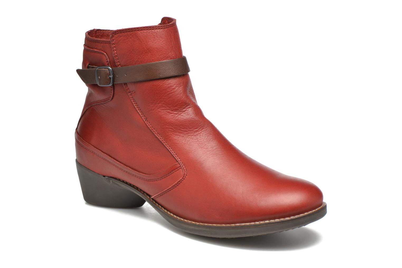 Bottines et boots TBS Gently Rouge vue détail/paire