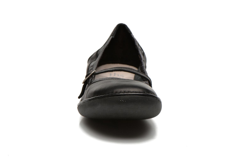 Ballerines TBS Mariza Noir vue portées chaussures