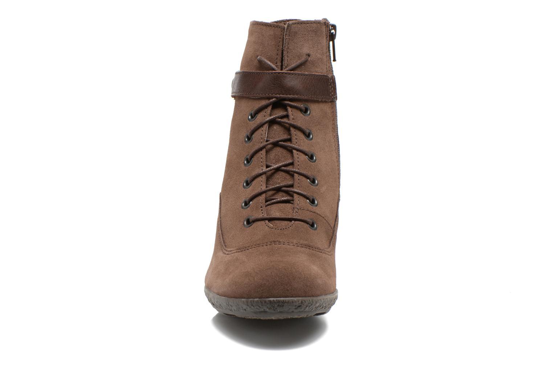 Bottines et boots TBS Wynona Marron vue portées chaussures