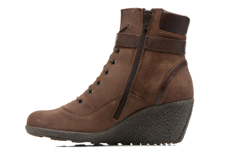 Bottines et boots TBS Wynona Marron vue face