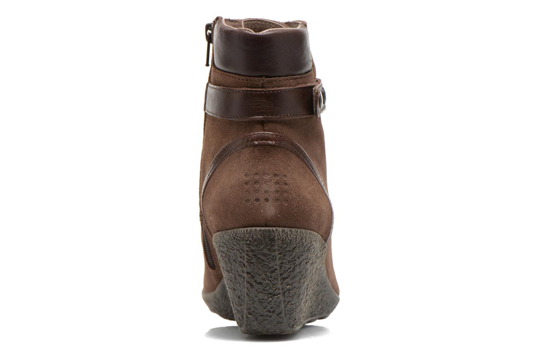 Bottines et boots TBS Wynona Marron vue droite