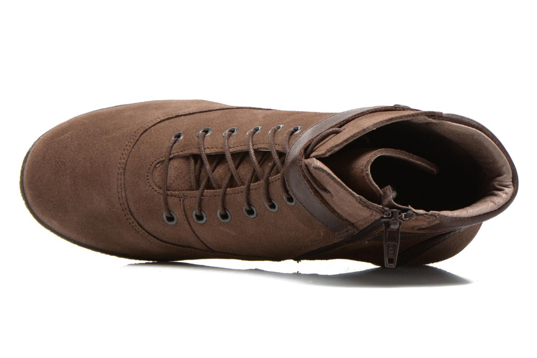 Bottines et boots TBS Wynona Marron vue gauche