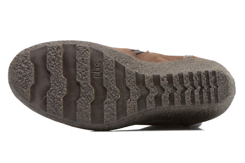 Bottines et boots TBS Wynona Marron vue haut