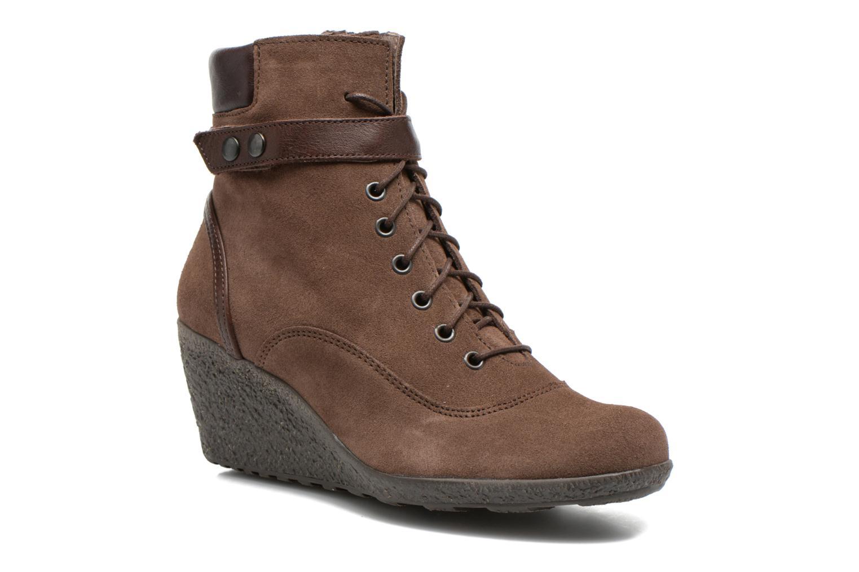Bottines et boots TBS Wynona Marron vue détail/paire