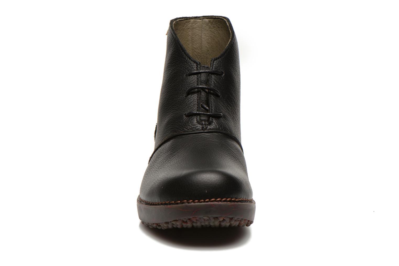 Ankle boots El Naturalista Tricot NC75 Black model view