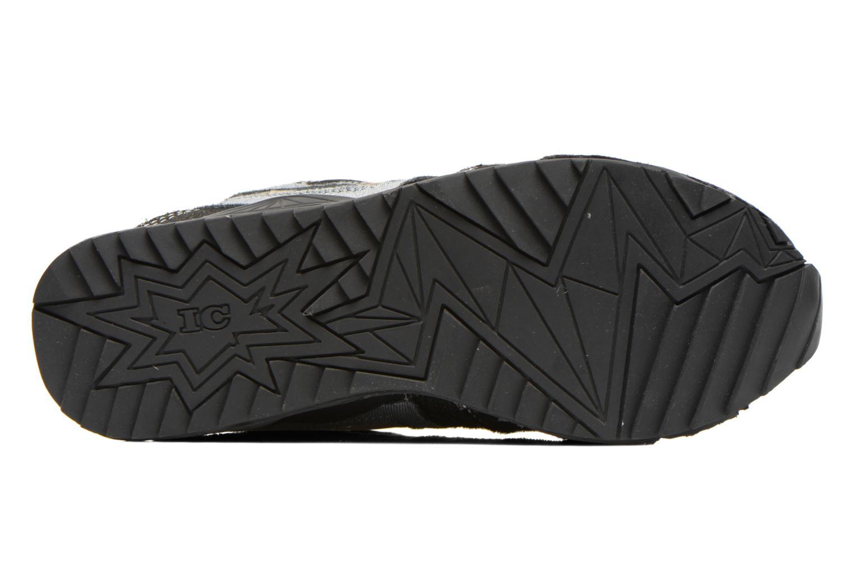 Baskets Irregular Choice Big Bolt Noir vue haut