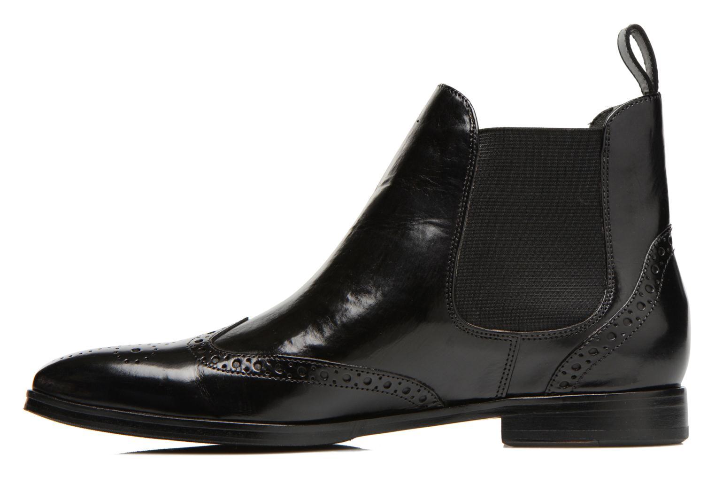 Bottines et boots Melvin & Hamilton Jessy 4 Noir vue face