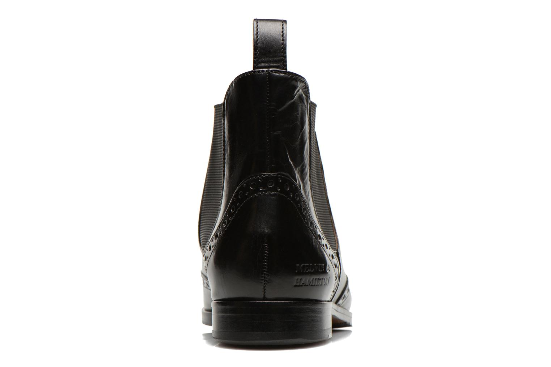 Jessy 4 Crust Black Elastic Black