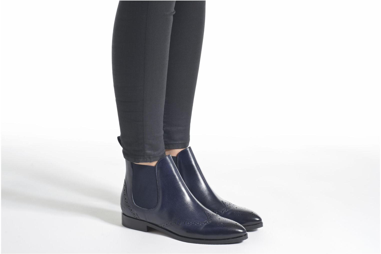 Bottines et boots Melvin & Hamilton Jessy 4 Bleu vue bas / vue portée sac