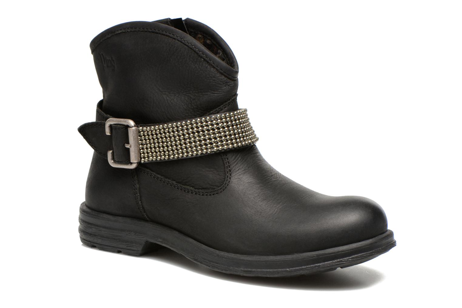 Ankle boots Primigi Amaya Black detailed view/ Pair view