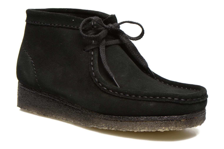 Chaussures Clarks Originals Wallabee W Noir gYbbo