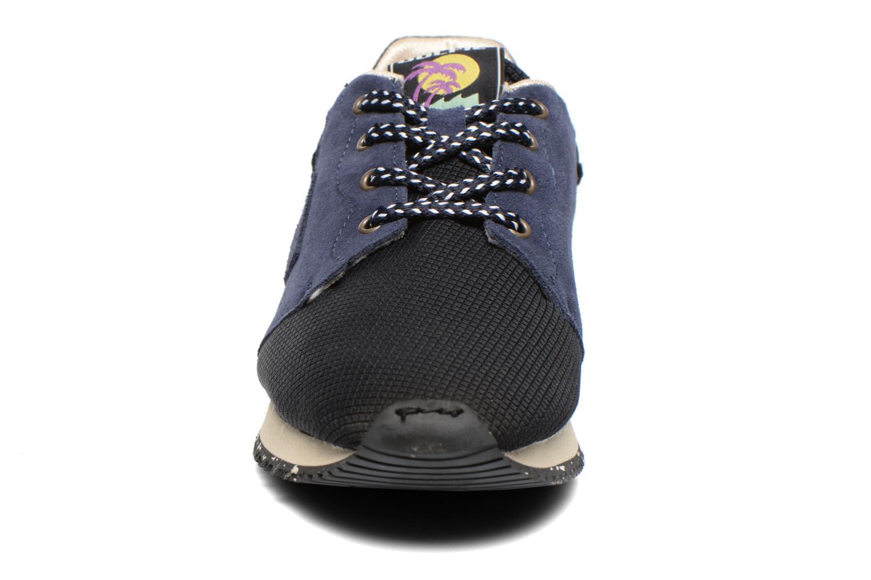 Baskets Dolfie Freddie Bleu vue portées chaussures