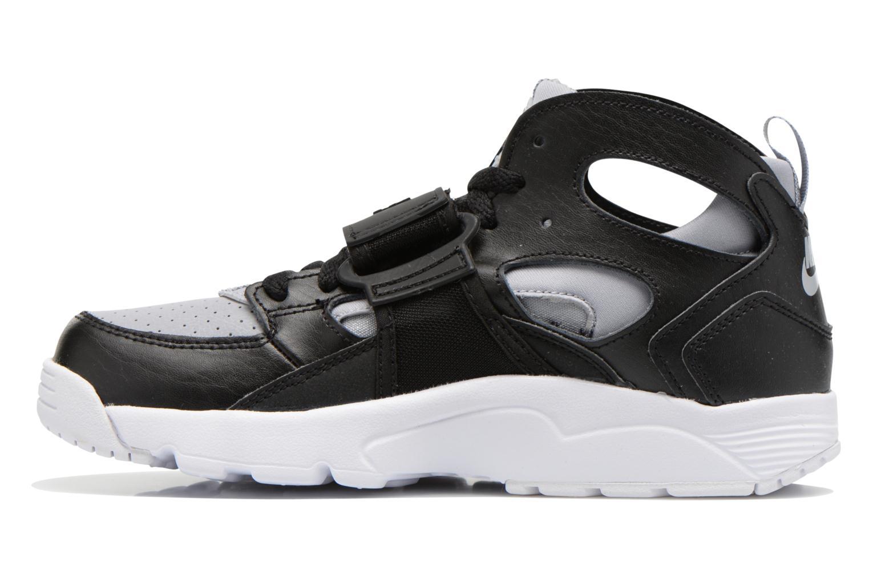 Sneaker Nike Trainer Huarache (Gs) schwarz ansicht von vorne