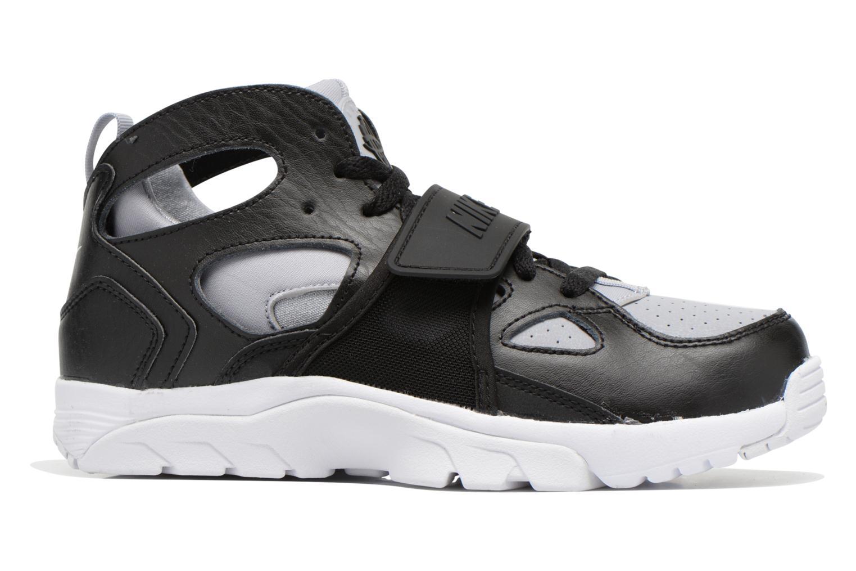 Sneaker Nike Trainer Huarache (Gs) schwarz ansicht von hinten