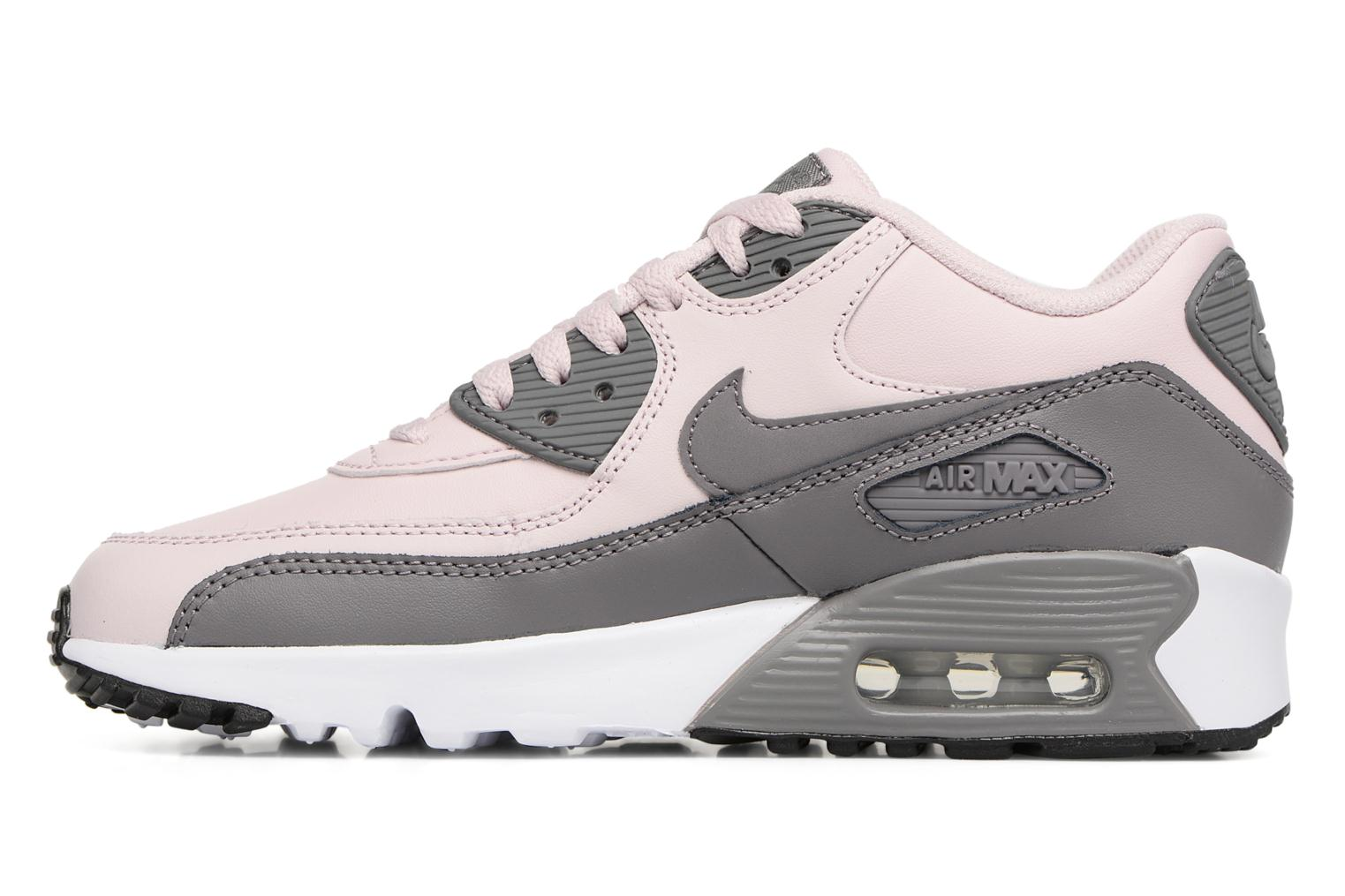 Baskets Nike Nike Air Max 90 Ltr (Gs) Rose vue face