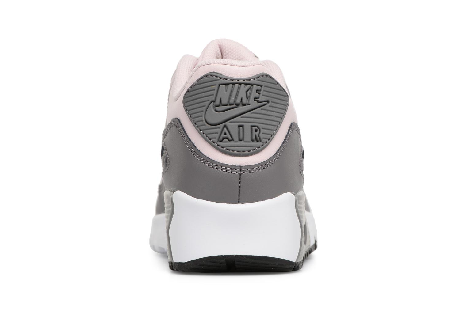 Trainers Nike Nike Air Max 90 Ltr (Gs) Pink view from the right