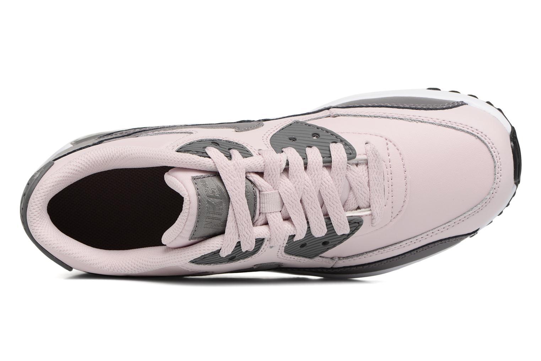 Baskets Nike Nike Air Max 90 Ltr (Gs) Rose vue gauche