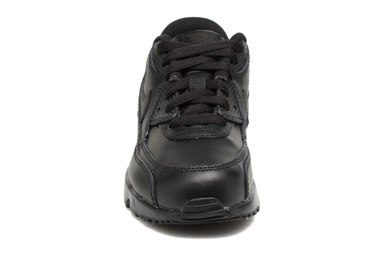 Baskets Nike Nike Air Max 90 Ltr (Ps) Noir vue portées chaussures