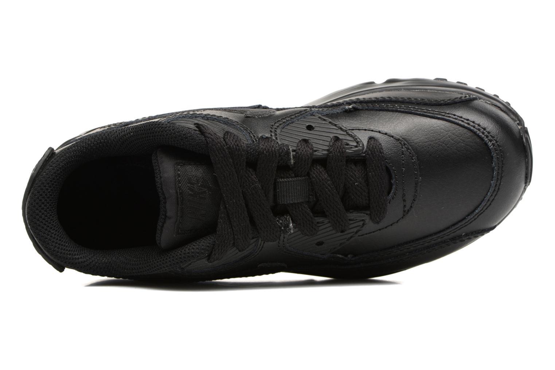 Baskets Nike Nike Air Max 90 Ltr (Ps) Noir vue gauche