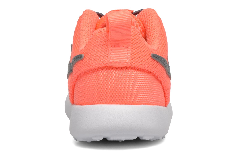 Baskets Nike Nike Roshe One (Tdv) Orange vue droite
